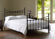 2 New metal frame double beds with mattresses for sale!